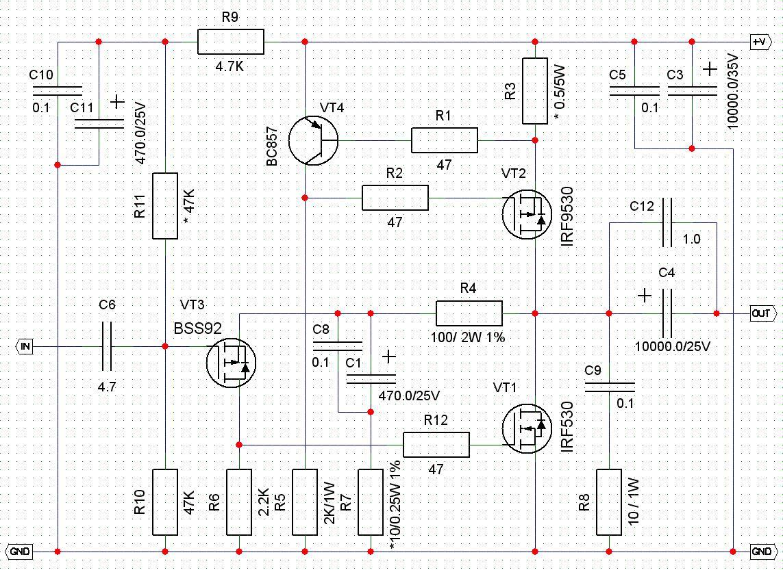 Высококачественный транзисторный усилитель своими руками 30